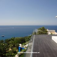 Villa en primera linea de mar en Ibiza