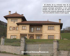 Villa/casa familiar de piedra en bello entorno natural
