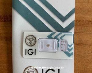Diamante con IGI a inversores Chinos