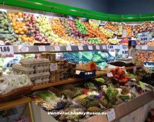 Comercio de Alimentación funcionando