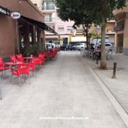 Bar Cafetería Copas con terraza