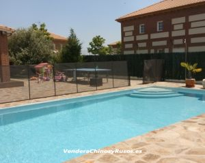 Chalet independiente con piscina y amueblado en el sur de Madrid