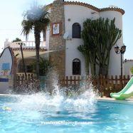 Gran Chalet individual con piscina privada cerca de la playa
